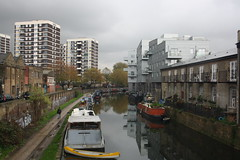 Regents Canal (lazy south's travels) Tags: uk england urban london river boat canal britain capital barge