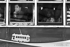 LIsbon (ale neri) Tags: street people blackandwhite bw portugal lisboa lisbon streetphotography tram 28 windowseat aleneri alessandroneri