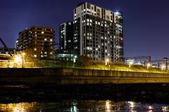 (Pierre-Luc G.) Tags: nightlights nightshot montral montreal canondslr urbanscape nighshot nightillumination canon50mmf14 bassinpeel canon6d