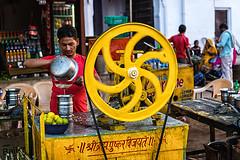 Indian juicer (Mivr) Tags: india juicer swastika