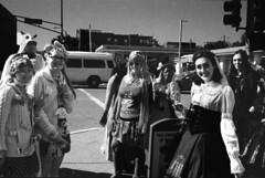 Unicorns? (GJosephT) Tags: street film st louis kodak bessa strangers 40mm streetcorner delmar mrokkor r2m voigtlanger