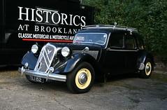 1953 Citroën Traction Avant Six Familiale (davocano) Tags: auction brooklands carauction historicsatbrooklands tsj152