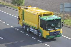Photo of M9 MERCEDES BENZ ECONIC REFUSE TRUCK UNKNOWN