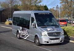 PO15AZR  Reays, Wigton (highlandreiver) Tags: bus mercedes benz coach cumbria carlisle coaches penrith unvi egremont wigton houghtonhall reays po15azr