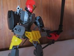 Loading Arrow (AlienHunter143) Tags: factory lego action alien bow hero sword warrior shield hunter mech 143