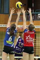 985_R.Varadi_R.Varadi (Robi33) Tags: game girl sport ball switzerland championship team women action tournament match network volleyball block volley referees viewers aesch