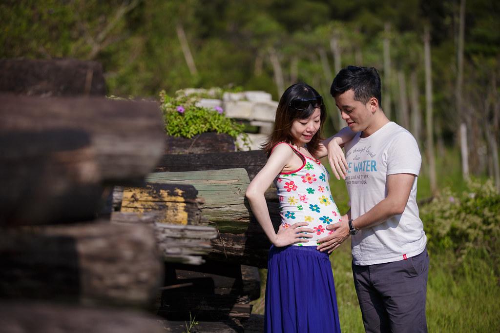 孕婦寫真,孕婦攝影,樹林孕婦,芒草孕婦,草原孕婦,Ajax&Far103