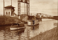 Ketcham's Point Bridge and Canal Boat