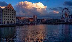 Motlawa River, Gdask (Ula P) Tags: gdansk poland polska motlawa river sky clouds heaven sony
