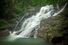 Kathu Waterfall number 2 (raypokai) Tags: kathu phuket thailand waterfall fujixt1