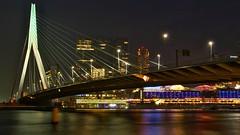 Rotterdam cruise terminal (Crooski) Tags: pentaxk3 ricohimagingcompany rotterdam avond nacht aidade aidaprima cruiseship cruiseterminal