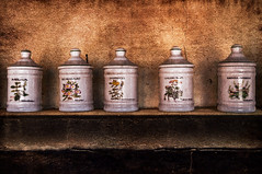 Especies (roqberd) Tags: bodegn chimenea especies comidachelvasoj texturas texture tomillo melisa escaramujo hiperita menta