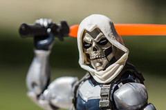 Taskmaster Close Up (Vimlossus) Tags: toy action figure marvel legends taskmaster outdoor