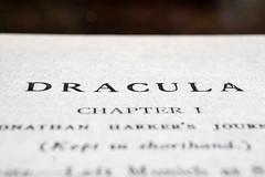 For Macro Mondays: Spooky and Frightful (laura_rivera) Tags: macomondays book macro dracula laurarivera spookyandfrightful