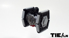 Tie/ln (curtydc) Tags: microfighter star wars tie fighter xwing awing atst ywing moc lego custom