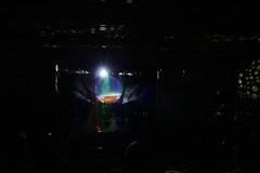 Stage set-up 2 (~nevikk~) Tags: armadillos stage lasers spotlights projectionscreens computergeneratedimages fogmachine strobelights