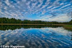 Järvi ja pilvet (Eero Happonen) Tags: 2106 lohilahti nikond300 tokina1116mm sysmä joutsjärvi finland