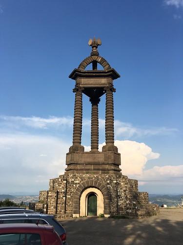 Monument commémoratif dédié à Vercingétorix