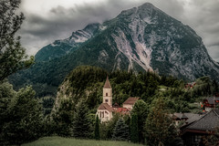 Prgg (Bernd Thaller) Tags: prg puergg styria steiermark austria sterreich grimming mountain peak mountainside village hamlet church saturation intensecolors landscape outdoor cloudy