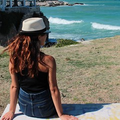 Smell of sea (mariapiadiana) Tags: sea smell girl vebes time hair wind redhair nature