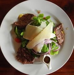 Steak Salad from Above (Neil Noland) Tags: vietnam hanoi oldquarter food cuisine