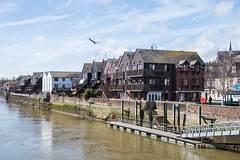 Arundel - Riverside Apartments (Le Monde1) Tags: arundel howard dukeofnorfolk lemonde1 nikon d610 town castle cathedral romancatholic market westsussex england county uk southdowns riverarun frenchgothic architect josephaloysiushansom riverside apartments