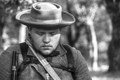 Reflecting (jmhutnik) Tags: kentucky prestonsburg middlecreeknationalbattlefield soldier hat