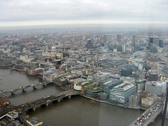 City from Shard #1 (streetr's_flickr) Tags: theshardoflondon highrise panorama tallbuildings structures architecture london city riverthames