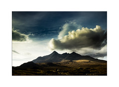 The Cuillins, Isle of Skye - Explore 24.10.2016 No.15 (muddybootsuk) Tags: cuillins mountains scotland isleofskye greatbritain innerhebrides westernisles landscape muddybootsuk sun clouds sky shadow autumn unitedkingdom talisker whisky sligachan