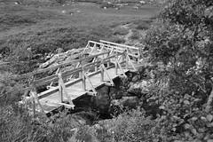 Bridge b/w (hr43) Tags: fallsofglomach sallachy loch long dornie wester ross highland scotland