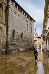Otoo en Zaragoza (Miguel.Herrera) Tags: zaragoza otoo lluvia calles urbana