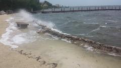 20161006_162008 (rolyrol1982) Tags: hurricane matthew waves crashing key largo florida keys 2016 bad weather dock pier