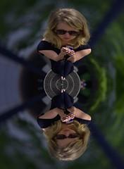 Double Focus (swong95765) Tags: blonde woman females ladies around distortion vortex