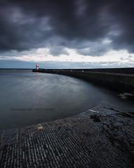 Scarlett (Steve Meadows Photography) Tags: scarlett isleofman sea rocks desaturated moody seascape wind rain storm stevemeadowsphotography