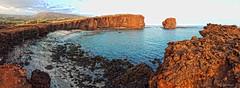 Sweetheart Rock - Puu Pehe, Lanai (Andy BealPhoto.com) Tags: galaxy s6 samsung puupehe sweetheartrock lanai hawaii travel vacation govisithawaii