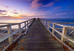 Sea an Bridge (Thomas Jahnke) Tags: rgen ostsee sassnitz eos760d tokina1116 mecklenburg sunset blue bridge seascape pier