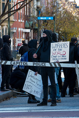 20161105-132117 (weaverphoto) Tags: harrisburg nationalsocialistmovement nazi pennsylvania firstamendment politics protest rally unitedstates protesters black blackbloc antifascist antiracist workersoftheworld