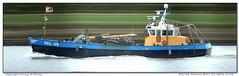 BRU 48 Adriaan (Morthole) Tags: slitscan ship boat schip boot barge binnenvaart schiff rheinschiff bru48adriaan bulk vrachtschip