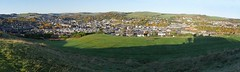 Panoramic view of Hawick taken from Heron Hill (penlea1954) Tags: hawick panorama borders wide angle scotland uk mill town