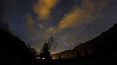 Claut (Scorpion-66) Tags: claut stelle stars startrail orione orion canon60d samyang8mm