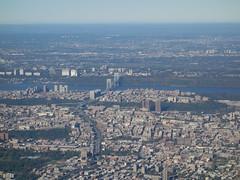 201610009 DL5414 LGA-YUL New York City Manhattan, Bronx and Hudson (taigatrommelchen) Tags: 20161041 usa nj ny newjersey newyork newyorkcity nyc bronx manhattan river hudson bridge icon city building aerial view photo airplane inflight dal