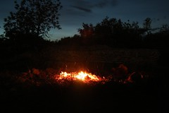 Wandern_etc (8) (Ernst Kuzorra) Tags: calig peniscola spain goat capricorn fire