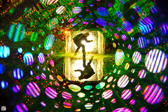 A Game Of Two Hearths. (martbarras) Tags: martbarras lightpainting lpuk lpwa brighton shoreham oxford minster lovell wirewool steelwool camera rotation rotationalism flipflop trippy psychedelic silhouette torches agameoftwohearths lightpainter lightart pixelstick frankenstick nikon d7100 tokina 1116mm sigma 1835mm samyang 8mm