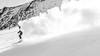 The snow ghost 1 (ignacy50.pl) Tags: snow mountains ski skiing speed dust skier sport alps alpine slope blackandwhite sonyrx1 fullframe ignacy50 austria kaprun leisure