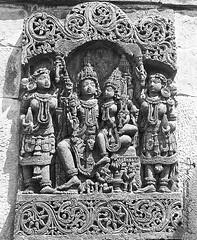 Stone Curved Sculptures of God (Ganesh @bantakal.com) Tags: chennakesava temple belur karnataka hoysala empire king vishnuvardhana asia india samsung sma300h