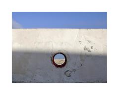 oltre c' il mare... (marco arnesano) Tags: muro obl mare salento torre chianca puglia minimal