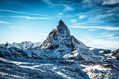 Matterhorn (Luis Sousa Lobo) Tags: img73022 suia suisse schweiz switzerland matterhorn alpes alps mountain gornergat canon 70d 2470 peak