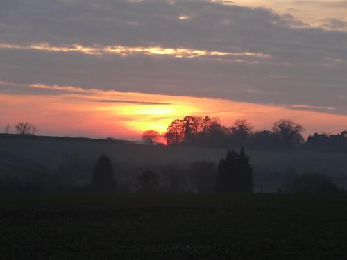 Sunset 5th December