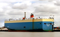 ADRIA ACE Vehicles Carrier (Bernard Spragg) Tags: adriaacevessel ships marine harbour lumixfz200