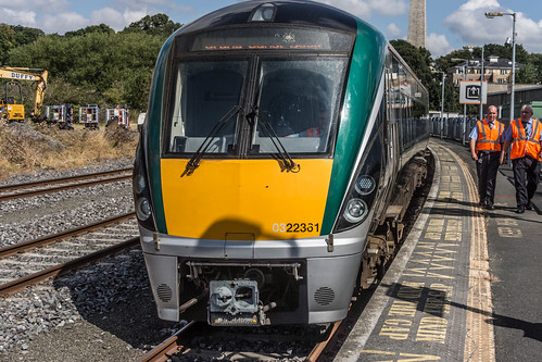 THE MINISTER PLUS PLATFORM 10 AND THE PHOENIX PARK RAILWAY TUNNEL [NOT FORGETTING IRISH RAIL STAFF] REF-107103